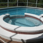 Resurfaced Pool & Spa